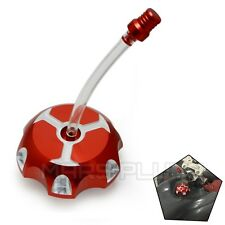 CNC Red Gas Tank Fuel Cap Petrol for Yamaha Banshee 1987-2006 2005 2004