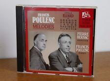 POULENC mélodies cycle Eluard – Pierre Bernac – Francis Poulenc – 14.115-2