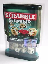 Rare   Scrabble Scramble  Travel Game    Word Dice Game  2007   New & Sealed