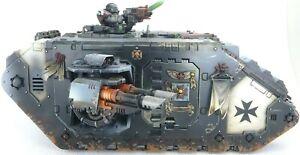 Warhammer 40k Space Marines Black Templars Land Raider