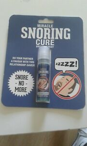 MIRACLE SNORING CURE BREATH SPRAY