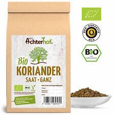 Bio Koriander Samen ganz 250g | Koriandersamen aus kbA | Coriander vom-Achterhof