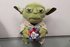 "Jumbo Gemmy Star Wars Happy Birthday Gift 19"" Yoda Grand Master Jedi Order"