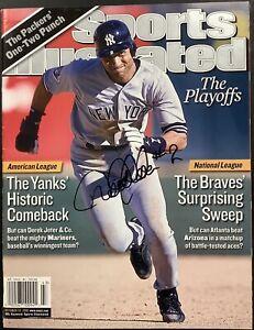 Derek Jeter Signed Sports Illustrated Magazine JSA Autograph HOF 2020 2 No Label