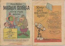 MAGILLA GORILLA KITE FUN BOOK '64 SCE SOUTHERN CALIFORNIA EDISON GIVEAWAY PROMO