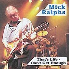 Mick Ralphs ‎– That's Life - Can't Get Enough  CD NEW