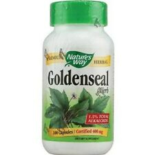 Goldenseal Herb, 100 Caps, Nature's Way Fast Shipping  1st Class Mail