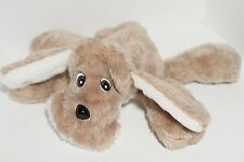 Haan Crafts Handmade Brown Floppy Plush Toy Puppy Dog