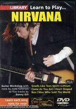 LICK LIBRARY Learn to Play NIRVANA Smells Like Teen Spirit Tutor ROCK Guitar DVD