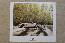 2007 Porsche Boxster Showroom Advertising Sales Poster RARE Awesome L@@K