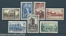 FRANCE - 1939 YT 388 à 394 - TIMBRES NEUFS* - charnière
