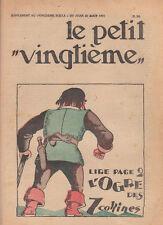 Petit Vingtième 1931 - n°34. Tintin et les nègres