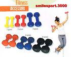 MANUBRI EFFEA pesi in ghisa ricoperti in vinile (Art. 813/1/2/4/6/8/10) fitness