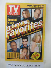 TV Guide  September 5-11  1998    Celebrating 50 Years Of The Emmys