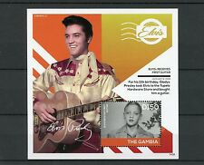Gambia 2014 MNH Elvis Presley Receives First Guitar Tupelo 1v S/S II