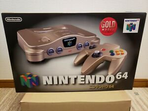 NEW Nintendo 64 GOLD Console System N64 Japan *COLLECTORS ITEM - $50 OFF* 2