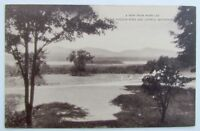 VINTAGE POSTCARD VIEW FROM WARD LEA HUDSON RIVER CATSKILL MOUNTAINS RED HOOK NY