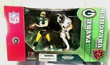 Green Bay Packers Favre vs Chicago Bears Urlacher Mcfarlane NFL Box Set