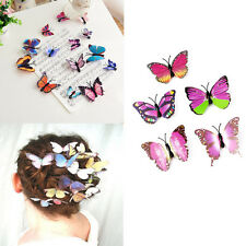 5Pcs Simulated Butterfly Hair Clips Bridal Headdress Wedding Hair Accessories