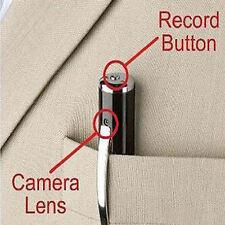 Spy Pen HD Cam Camera Video DVR Covert Hidden Discreet Recording Surveillance