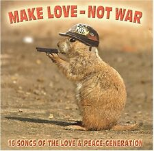 Make Love-not War-16 Songs of the Love & Peace-Generation Bob Dylan, Joni.. [CD]