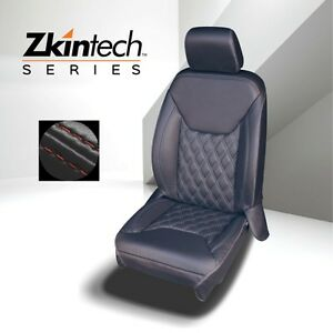 Lederausstattung / Sitzbezüge / Lederkit schwarz mit roten Nähten - Wrangler