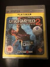 Uncharted 2 Among Thieves PS3 Playstation 3 (Platinum) **FREE UK POSTAGE**