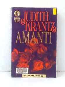 Amanti by Judith Krantz in Italian traduzione di Roberta Rambelli ex-library PB