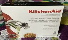 KitchenAid Stand Mixer Spiralizer with Peel, Core, and Slice NEW in box KSM1APC