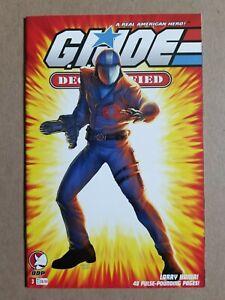 GI Joe Declassified #3 (2006 Devils Due) Cobra Commander Variant ~ High Grade