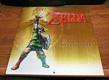 Official Nintendo Legend of Zelda 2013 Wall Calendar (RARE Collectors Item)