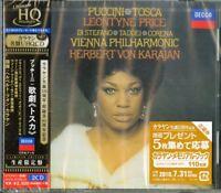 HERBERT VON KARAJAN-PUCCINI: TOSCA-JAPAN 2 HQCD Ltd/Ed F56