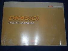 KIOTI DK65(C) TRACTOR PARTS CATALOG BOOK MANUAL