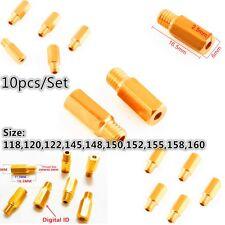 Set/10pcs Carburetor Main Jet kit For 118 120 122 145 150……160#