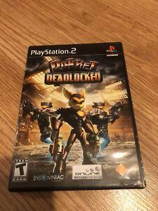 Ratchet: Deadlocked Greatest Hits (Sony PlayStation 2, 2006) Works VC3