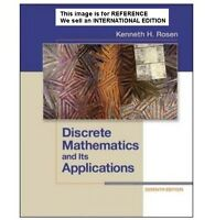 Discrete Mathematics and Its Applications by Kenneth(Int' Ed Paperback)7th Ed