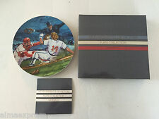 1985 Avon Moments of Victory - Baseball Collector Plate