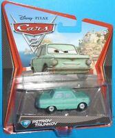 2011 Disney Pixar Cars 2 Petrov Trunkov #18 NEW VHTF