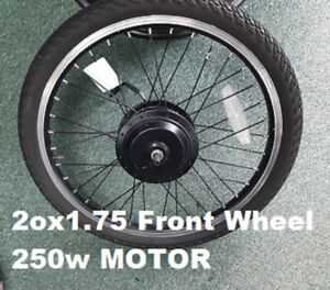 """20"""" Front Electric Wheel conversion KIT 20x 1.75 Tyre Inner tube"""