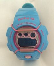 Casio Baby G World Time Digital Ladies Watch BG-1005M-2 Powder Blue Pink