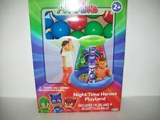 PJ Masks Night Time Heroes Playland Inflatable Fun New