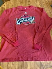 Cleveland Cavaliers Long Sleeve T Shirt Large
