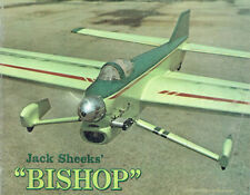 "Model Airplane Plans (UC): The Bishop 52"" Stunt for .35-.46 by Jack Sheeks"