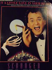 Put a Little Love in Your Heart sheet music Scrooged Annie Lennox Al Green