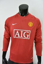 2007-09 nike Manchester United Home Shirt Long Sleeve  Champions League SIZE M