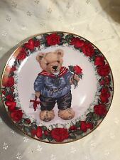 Franklin Mint Love Letters From Teddy Collectors Plate