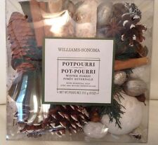 Williams Sonoma Winter Forest Potpourri 9 Oz Essential Oils New
