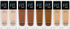Maybelline Fit Me! Matte + Poreless Liquid Foundation SPF18 ~ Choose Shade