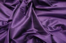 Shantung Plum Drapery wedding Silk Faux Dupioni Solid home decor Fabric by yard