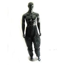 Black Hairy Pants Gorilla Monkey Legs Ape Furry Adult Animal Halloween Costume